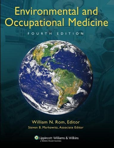 9780781762991: Environmental and Occupational Medicine