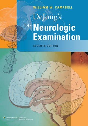 9780781763264: Dejong's the Neurologic Examination: India Edition