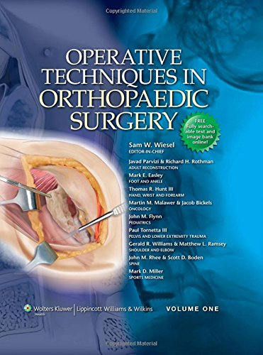 9780781763707: Operative Techniques in Orthopaedic Surgery: An Illustrative Approach
