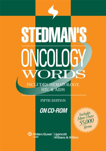9780781763875: Stedman's Oncology Words, Fifth Edition, on CD-ROM