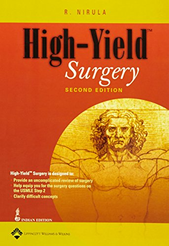 9780781764407: High Yield Surgery