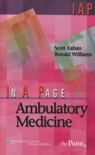 In A Page Ambulatory Medicine (In a: Williams MD, Ronald,