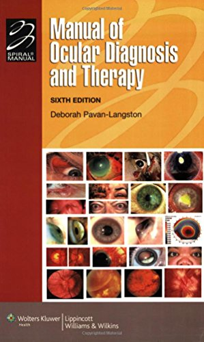 9780781765121: Manual of Ocular Diagnosis and Therapy (Lippincott Manual Series)