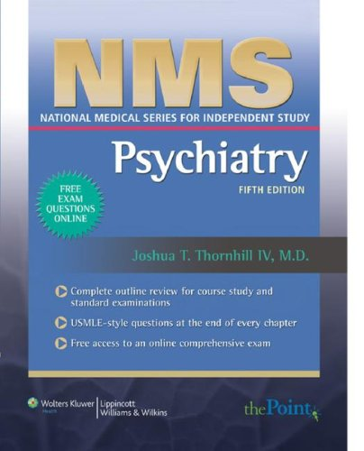9780781765145: NMS Psychiatry (National Medical Series for Independent Study)