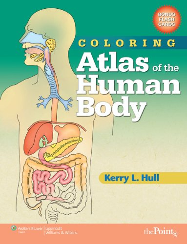 9780781765305: Coloring Atlas of the Human Body [With Flash Cards]