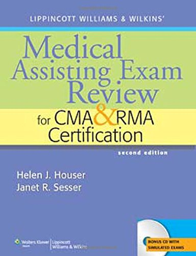 9780781765350: Lippincott Williams & Wilkins' Medical Assisting Exam Review for CMA and RMA Certification