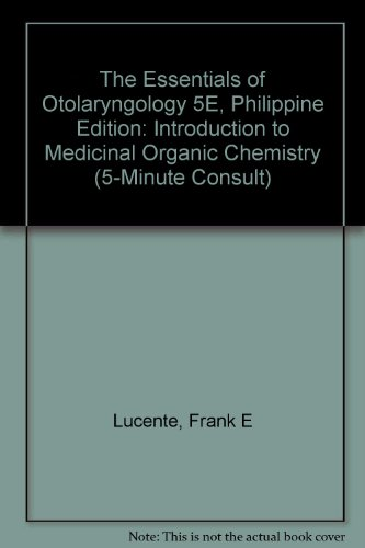9780781765510: Essentials of Otolaryngology (5-Minute Consult)
