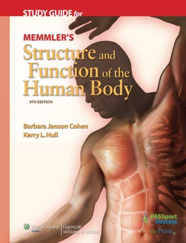 9780781765961: Study Guide for Memmler's Structure and Function of the Human Body
