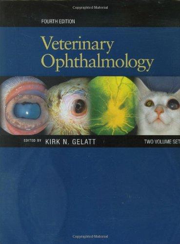 9780781766579: Veterinary Ophthalmology (2 Volume Set)