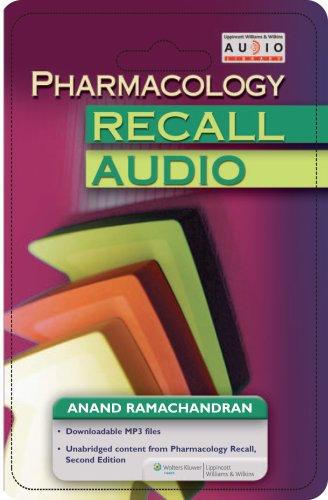 9780781766593: Pharmacology Recall Audio (Recall Series)