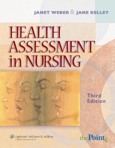 Health Assessment in Nursing W/ CD-ROM: Weber, Janet R.