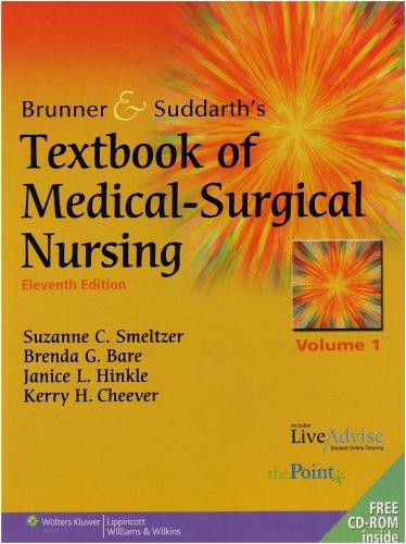9780781766951: Brunner and Suddarth's Textbook of Medical-Surgical Nursing (2 Volume Set)