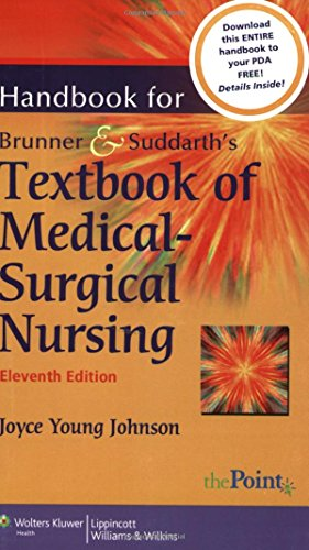 Handbook for Brunner and Suddarth's Textbook of Medical-Surgical Nursing (0781767490) by Joyce Young Johnson