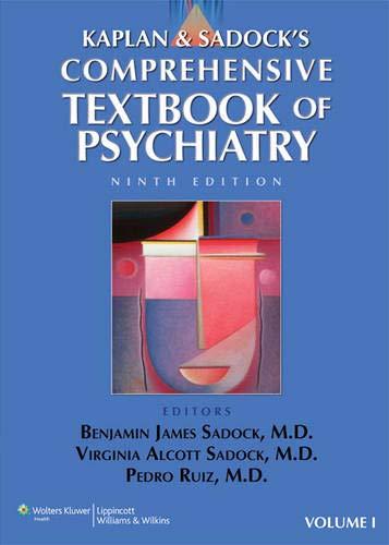 9780781768993: Kaplan & Sadock's Comprehensive Textbook of Psychiatry