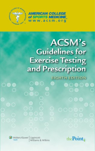 9780781769020: ACSM's Guidelines for Exercise Testing and Prescription