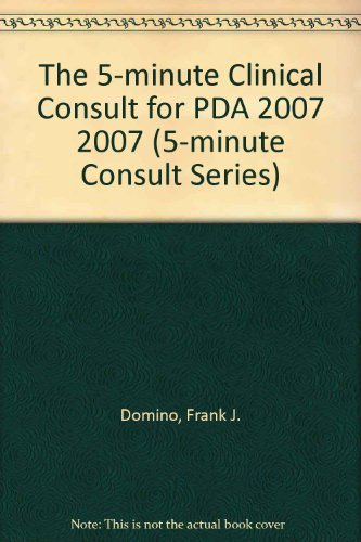 9780781769693: The 5-Minute Clinical Consult 2007 for PDA: Powered by Skyscape, Inc. (The 5-Minute Consult Series)