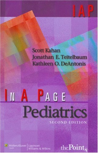 In A Page Pediatrics (In a Page: Kahan, Scott, Teitelbaum