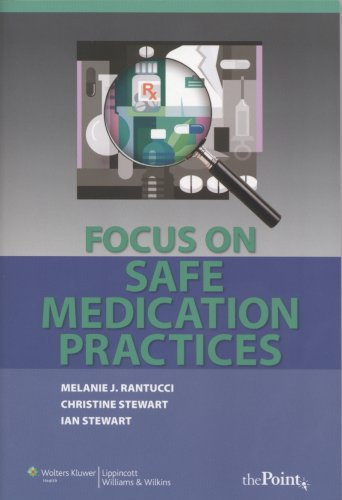 9780781770781: Focus on Safe Medication Practices