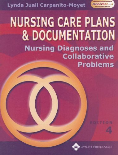 9780781770811: Nursing Care Plans and Documentation: Canadian Version: Nursing Diagnoses and Colloborative Problems