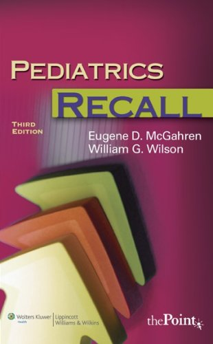 9780781771184: Pediatrics Recall (Recall Series)