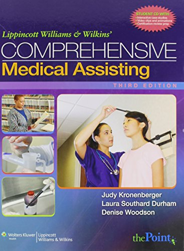9780781771719: Lippincott Williams & Wilkins Comprehensive Medical Assisting Text and Study Guide
