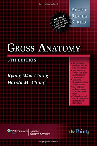 9780781771740: BRS Gross Anatomy (Board Review Series)