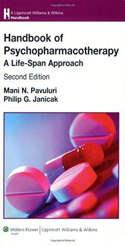9780781771962: Handbook of Psychopharmacotherapy: A Life-Span Approach (Lippincott Williams & Wilkins Handbook Series)