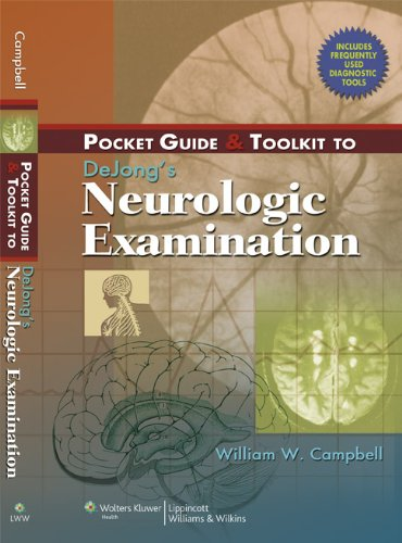 9780781773591: Pocket Guide & Toolkit to Dejong's Neurologic Examination [With Diagnostic Tool]: Pocket Guide and Toolkit