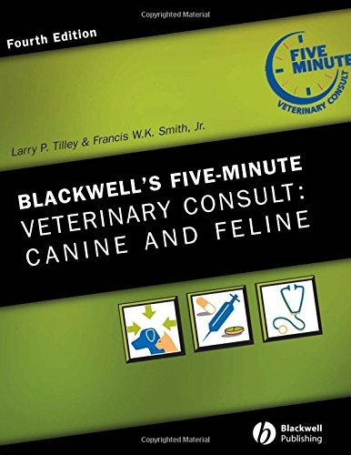 9780781773607: Blackwell's Five-Minute Veterinary Consult: Canine and Feline (The 5-Minute Veterinary Consult Series)