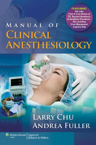 9780781773799: Manual of Clinical Anesthesiology