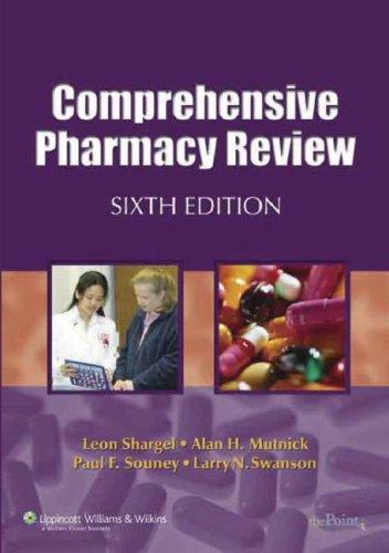 9780781774000: Comprehensive Pharmacy Review NAPLEX® Preparation CD-ROM