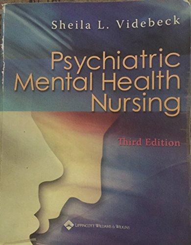 9780781774918: Psychiatric Mental Health Nursing