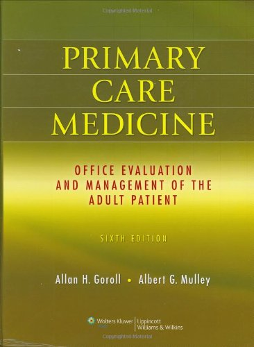 9780781775137: Primary Care Medicine: Office Evaluation and Management of the Adult Patient