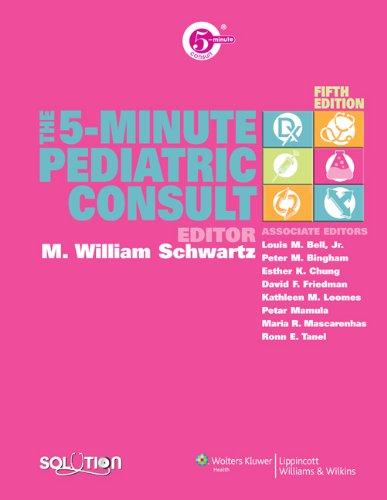 9780781775779 The 5 Minute Pediatric Consult The 5 Minute Consult