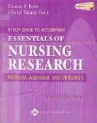 9780781776790: Study Guide to Accompany Essentials of Nursing Research: Methods, Appraisal, and Utilization