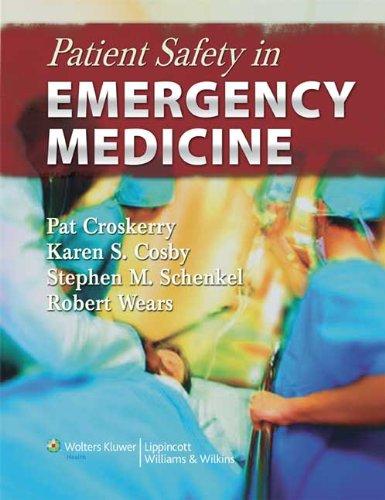 9780781777278: Patient Safety in Emergency Medicine