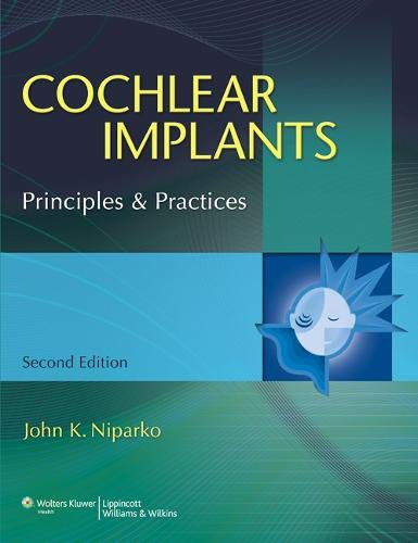 9780781777490: Cochlear Implants: Principles & Practice