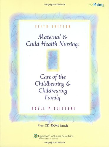 Maternal and child health nursing adele pillitteri