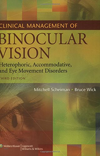 9780781777841 Clinical Management Of Binocular Vision Heterophoric Accommodative And Eye Movement Disorders
