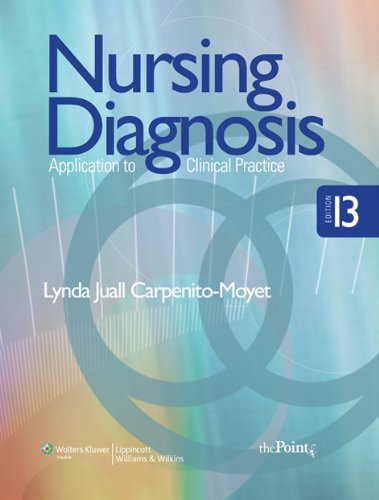 9780781777926: Nursing Diagnosis: Application to Clinical Practice