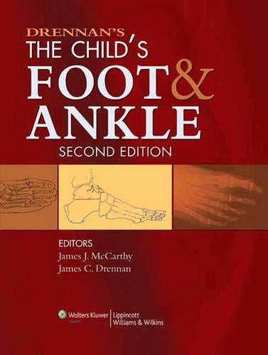 9780781778473: Drennan's The Child's Foot and Ankle
