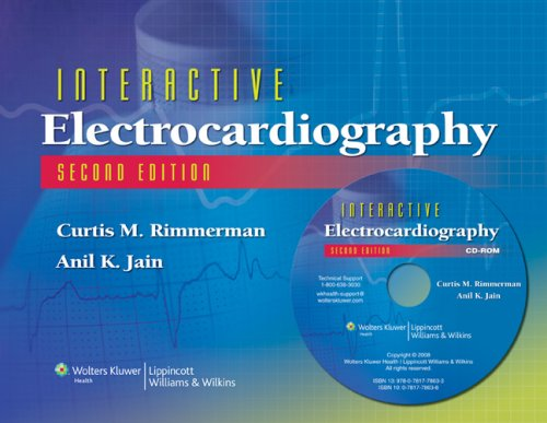 9780781778633: Interactive Electrocardiography: CD-ROM with Workbook