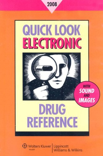 9780781778848: Quick Look Electronic Drug Reference 2008