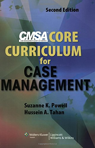 9780781779173: CMSA Core Curriculum for Case Management