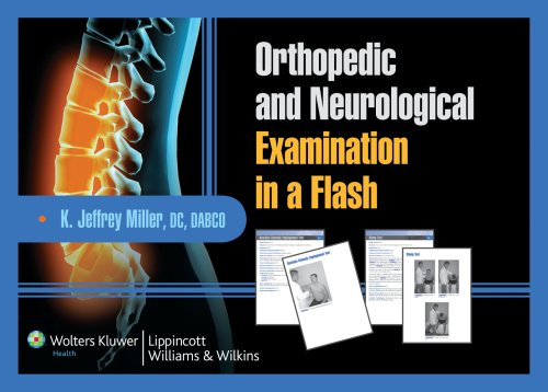 9780781779180: Orthopedic and Neurological Examination in a Flash