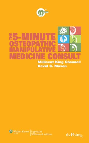 9780781779531: The 5-Minute Osteopathic Manipulative Medicine Consult (The 5-Minute Consult Series)