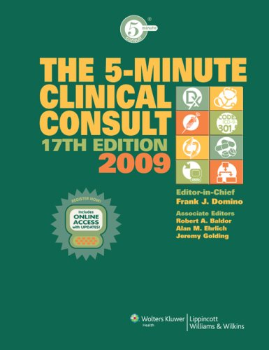 The 5-Minute Clinical Consult 2009, Book and