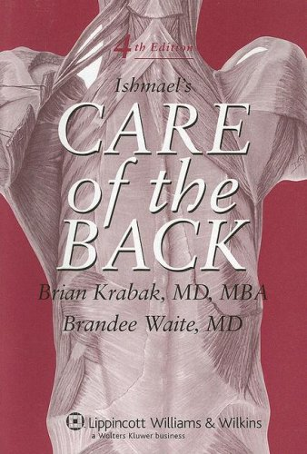 9780781779807: Ishmael's Care of the Back