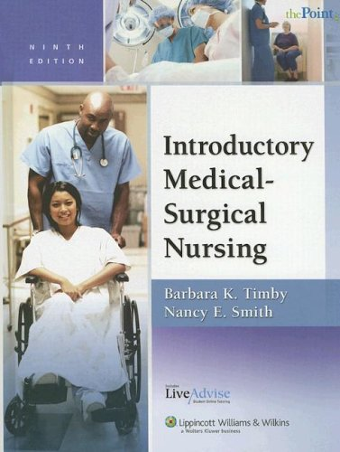 9780781780322: Introductory Medical-Surgical Nursing Plus LiveAdvise Online Student Tutoring Service (Point (Lippincott Williams & Wilkins))