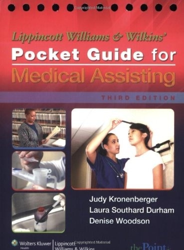 9780781780537: Lippincott Williams & Wilkins' Pocket Guide for Medical Assisting